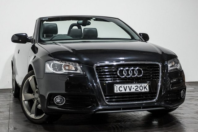 Used Audi A3 Attraction S tronic, Rozelle, 2013 Audi A3 Attraction S tronic Convertible