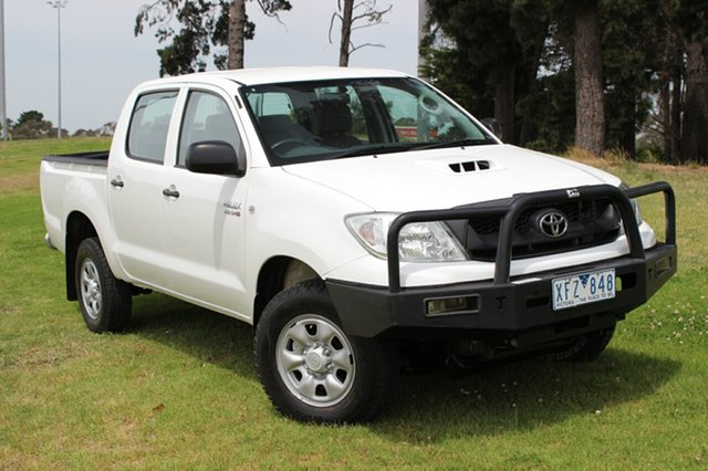 Used Toyota Hilux SR, Officer, 2009 Toyota Hilux SR Utility