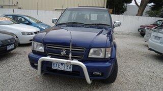 2002 Holden Jackaroo Nullabor Wagon.