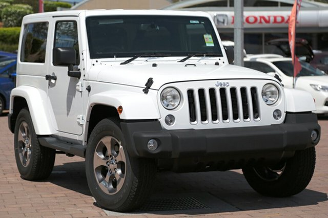 Discounted Demonstrator, Demo, Near New Jeep Wrangler Overland, Southport, 2017 Jeep Wrangler Overland SUV