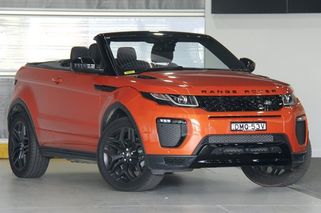 Used Land Rover Range Rover Evoque SI4 HSE Dynamic, Doncaster, 2017 Land Rover Range Rover Evoque SI4 HSE Dynamic Convertible