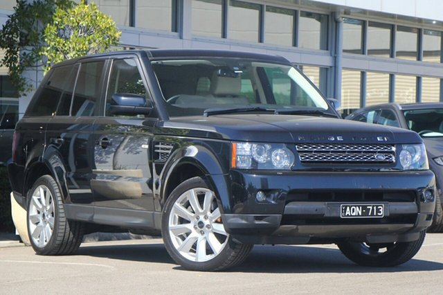 Used Land Rover Range Rover Sport SDV6 CommandShift Luxury, Port Melbourne, 2012 Land Rover Range Rover Sport SDV6 CommandShift Luxury Wagon