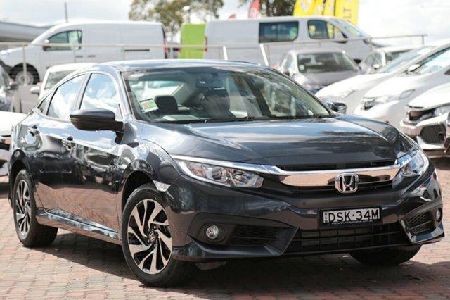 Discounted Demonstrator, Demo, Near New Honda Civic VTi-S, Narellan, 2017 Honda Civic VTi-S Sedan