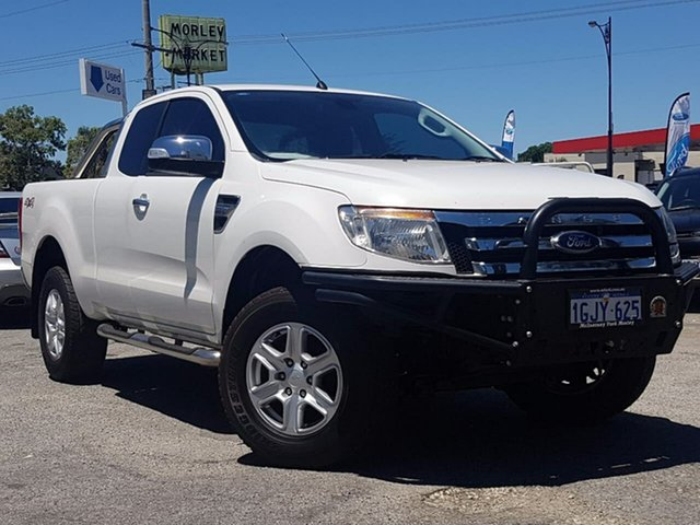 Used Ford Ranger XLT Double Cab, Morley, 2013 Ford Ranger XLT Double Cab Utility