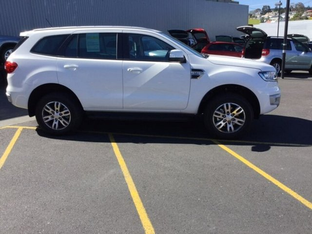 Demonstrator, Demo, Near New Ford Everest Trend 4WD, Hobart, 2017 Ford Everest Trend 4WD Wagon