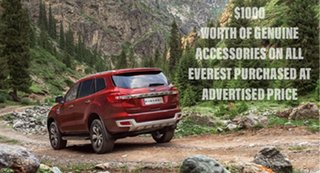 2017 Ford Everest Trend 4WD Wagon.