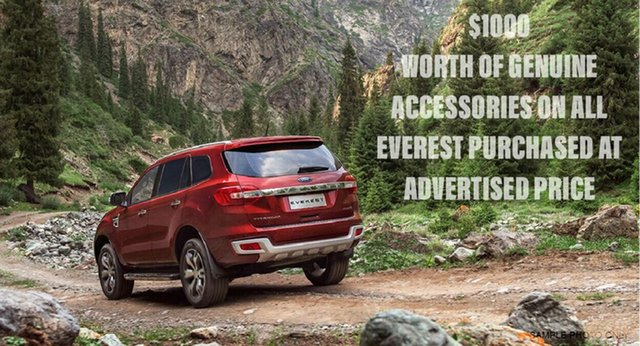 New Ford Everest Trend 4WD, Beaudesert, 2017 Ford Everest Trend 4WD Wagon