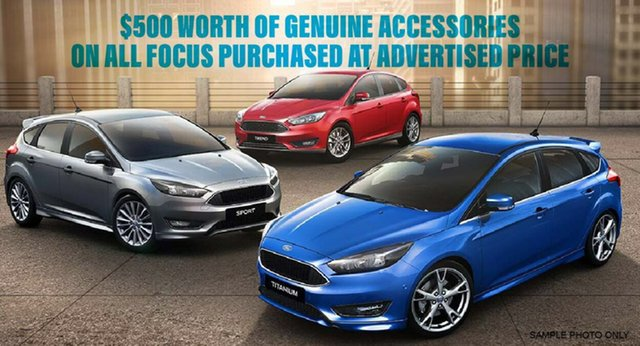 Demonstrator, Demo, Near New Ford Focus Trend, Beaudesert, 2017 Ford Focus Trend Hatchback