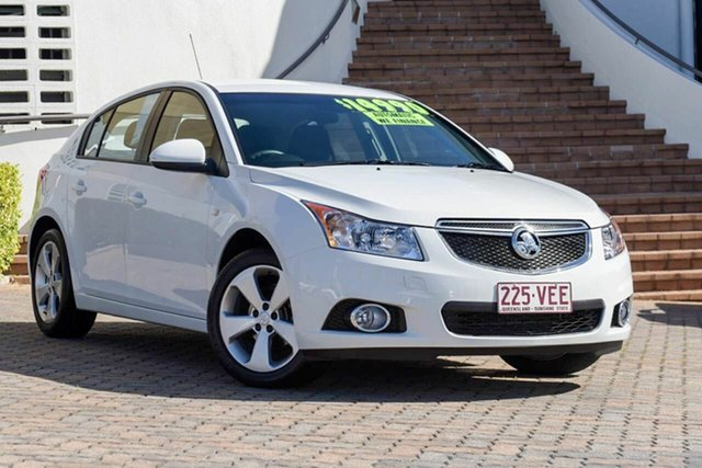 Discounted Used Holden Cruze Equipe, Southport, 2014 Holden Cruze Equipe Hatchback