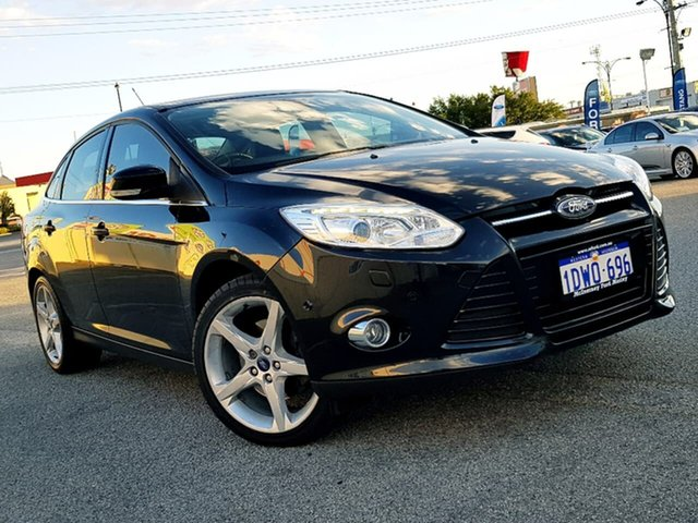 Used Ford Focus Titanium PwrShift, Morley, 2012 Ford Focus Titanium PwrShift Sedan