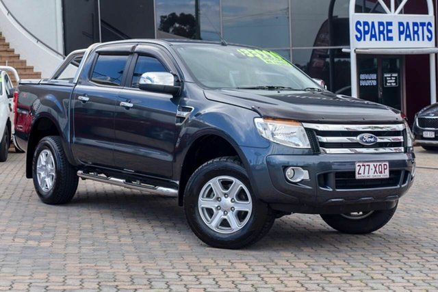 Discounted Used Ford Ranger XLT Double Cab 4x2 Hi-Rider, Southport, 2013 Ford Ranger XLT Double Cab 4x2 Hi-Rider Utility