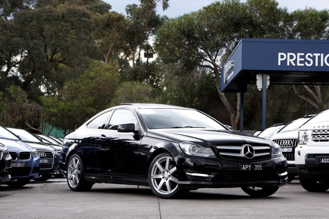 Used Mercedes-Benz C250 BlueEFFICIENCY 7G-Tronic +, Balwyn, 2012 Mercedes-Benz C250 BlueEFFICIENCY 7G-Tronic + Coupe