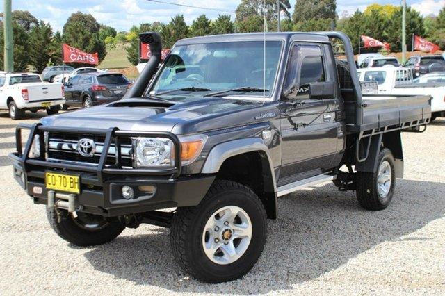 Used Toyota Landcruiser GXL (4x4), Bathurst, 2013 Toyota Landcruiser GXL (4x4) Cab Chassis
