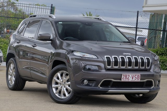 Used Jeep Cherokee Limited, Moorooka, Brisbane, 2015 Jeep Cherokee Limited Wagon