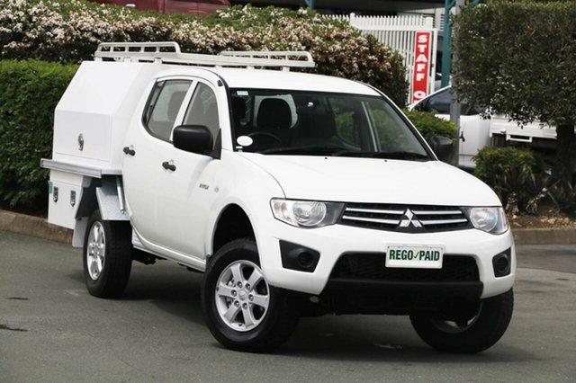 Used Mitsubishi Triton GLX Double Cab, Acacia Ridge, 2012 Mitsubishi Triton GLX Double Cab MN MY12 Utility