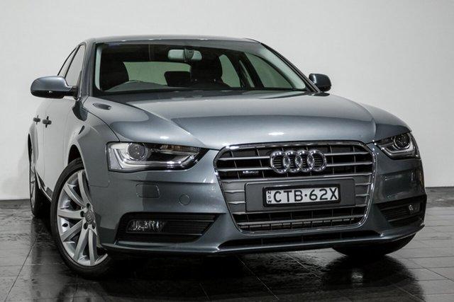 Used Audi A4 S tronic quattro, Rozelle, 2014 Audi A4 S tronic quattro Sedan