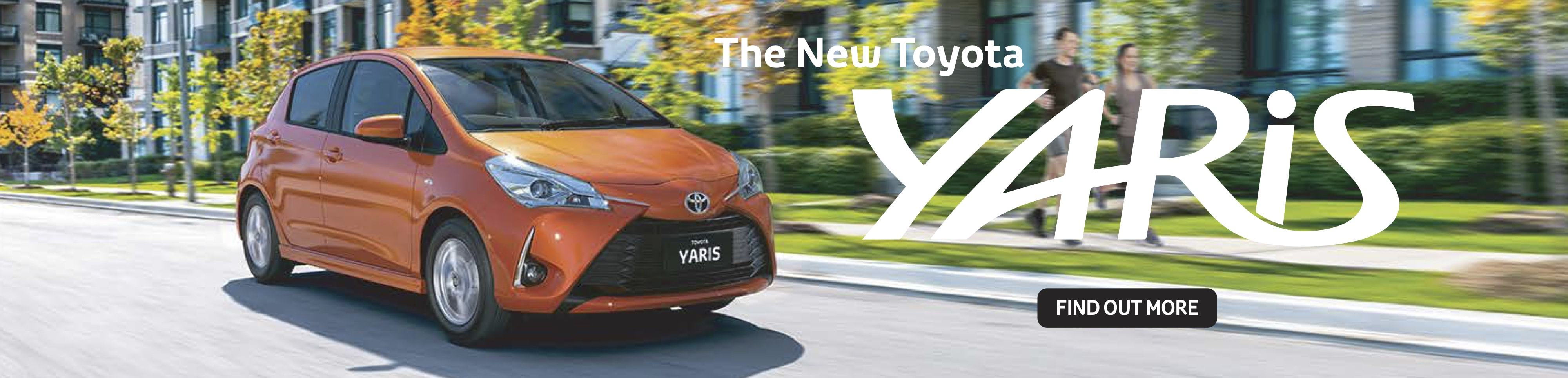 The All New Toyota Yaris