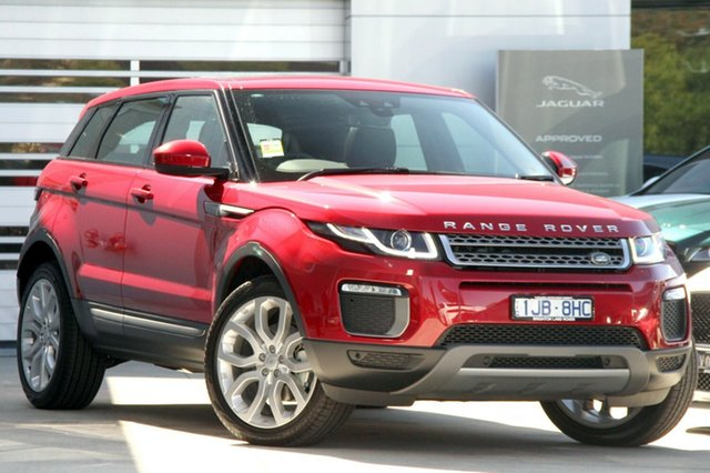 Discounted Demonstrator, Demo, Near New Land Rover Range Rover Evoque TD4 150 SE, Gardenvale, 2017 Land Rover Range Rover Evoque TD4 150 SE Wagon