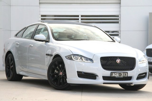 Discounted Demonstrator, Demo, Near New Jaguar XJ R-Sport SWB, Gardenvale, 2016 Jaguar XJ R-Sport SWB Sedan