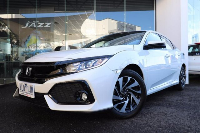 Demonstrator, Demo, Near New Honda Civic VTi-S, Hoppers Crossing, 2017 Honda Civic VTi-S Hatchback