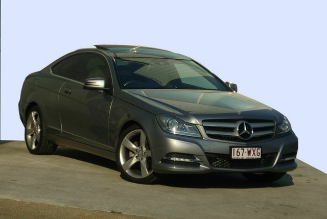 Used Mercedes-Benz C250 BE, Moorooka, 2011 Mercedes-Benz C250 BE Coupe