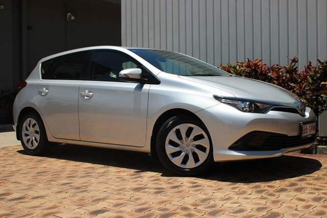 Used Toyota Corolla Ascent S-CVT, Cairns, 2015 Toyota Corolla Ascent S-CVT Hatchback
