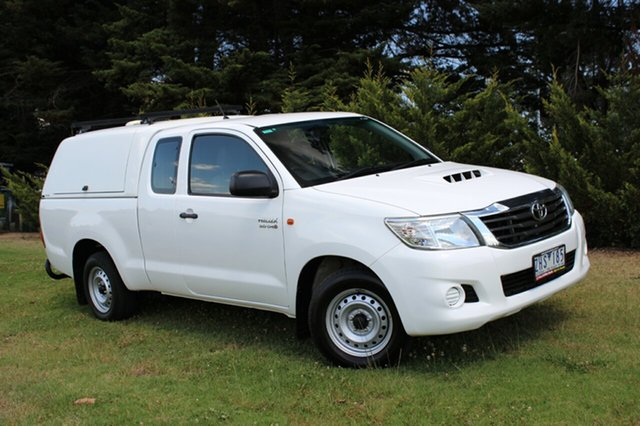 Used Toyota Hilux SR Xtra Cab, Officer, 2012 Toyota Hilux SR Xtra Cab Utility