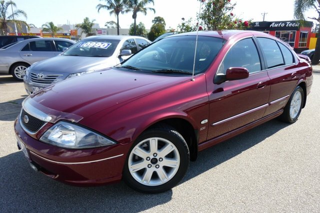 Used Ford Falcon SR Forte, Cheltenham, 2002 Ford Falcon SR Forte Sedan