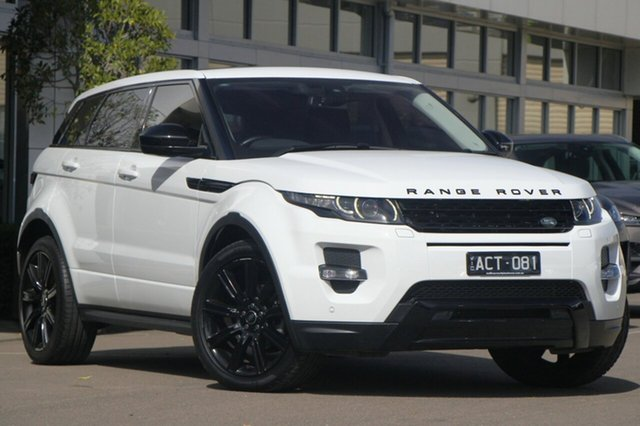 Used Land Rover Range Rover Evoque TD4 Dynamic, Port Melbourne, 2014 Land Rover Range Rover Evoque TD4 Dynamic Wagon