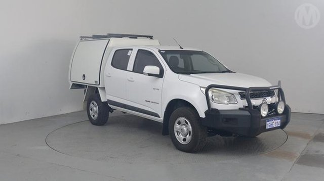 Used Holden Colorado LX (4x4), Altona North, 2012 Holden Colorado LX (4x4) Crew Cab Chassis