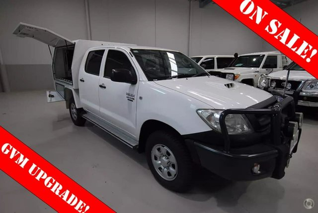 Used Toyota Hilux SR, Kenwick, 2010 Toyota Hilux SR Cab Chassis