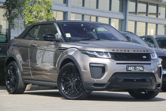 Used Land Rover Range Rover Evoque TD4 180 HSE Dynamic, Port Melbourne, 2017 Land Rover Range Rover Evoque TD4 180 HSE Dynamic Wagon