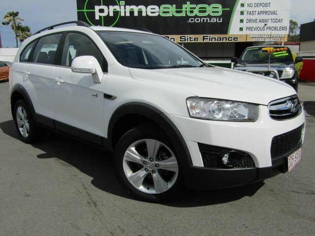 Used Holden Captiva 7 CX (4x4), Loganholme, 2012 Holden Captiva 7 CX (4x4) Wagon