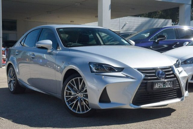 Demonstrator, Demo, Near New Lexus IS300H Sports Luxury, Elsternwick, 2017 Lexus IS300H Sports Luxury Sedan