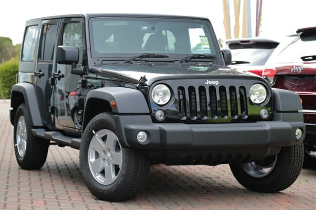 Discounted New Jeep Wrangler Unlimited Sport, Southport, 2017 Jeep Wrangler Unlimited Sport SUV