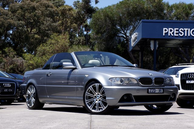 Used BMW 330CI Steptronic, Balwyn, 2005 BMW 330CI Steptronic Convertible