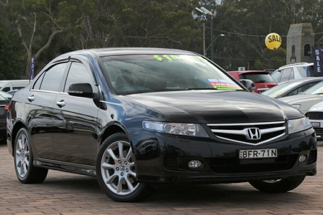 Used Honda Accord Euro Luxury Navi, Warwick Farm, 2008 Honda Accord Euro Luxury Navi Sedan