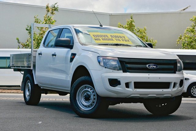 Used Ford Ranger XL Double Cab 4x2 Hi-Rider, Robina, 2014 Ford Ranger XL Double Cab 4x2 Hi-Rider PX Cab Chassis