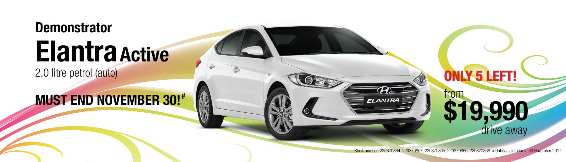 Hyundai Elantra Driveaway Offer