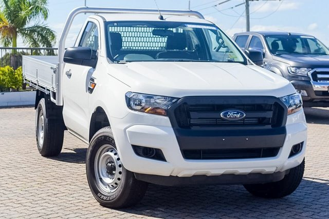 Discounted Demonstrator, Demo, Near New Ford Ranger XL 4x2 Hi-Rider, Southport, 2016 Ford Ranger XL 4x2 Hi-Rider Cab Chassis