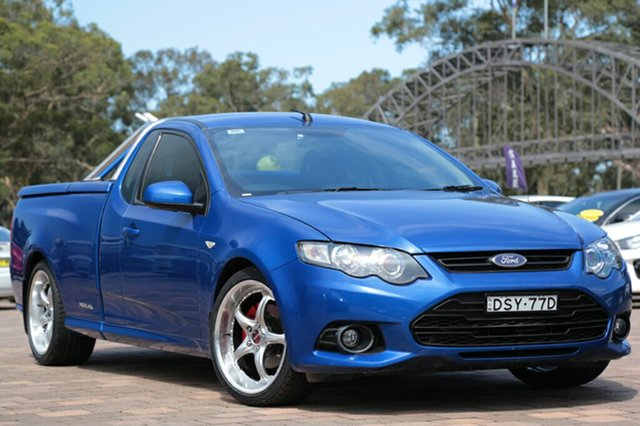 Used Ford Falcon XR6 Ute Super Cab, Warwick Farm, 2013 Ford Falcon XR6 Ute Super Cab Utility