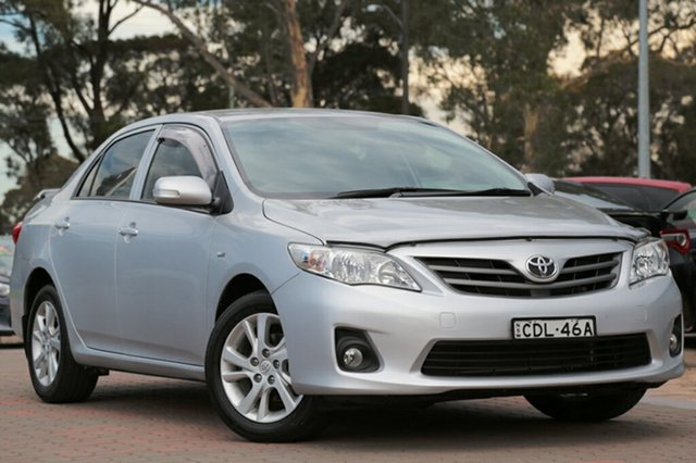 Used Toyota Corolla Ascent, Warwick Farm, 2011 Toyota Corolla Ascent Sedan