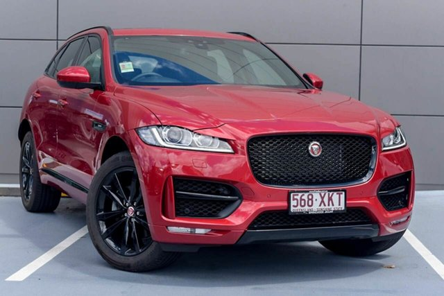 Demonstrator, Demo, Near New Jaguar F-PACE 30d AWD R-Sport, Southport, 2016 Jaguar F-PACE 30d AWD R-Sport Wagon