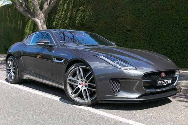 Demonstrator, Demo, Near New Jaguar F-TYPE 221kW Quickshift RWD, Hawthorn, 2017 Jaguar F-TYPE 221kW Quickshift RWD Coupe