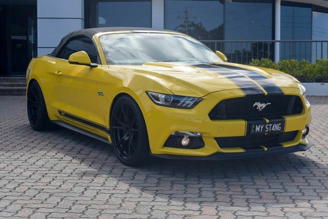 Discounted Demonstrator, Demo, Near New Ford Mustang GT SelectShift, Southport, 2017 Ford Mustang GT SelectShift Convertible