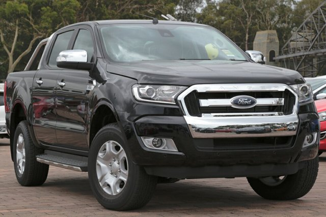 Discounted Demonstrator, Demo, Near New Ford Ranger XLT Double Cab, Warwick Farm, 2017 Ford Ranger XLT Double Cab Utility