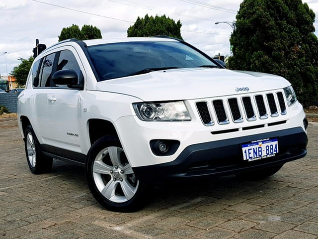 Used Jeep Compass Sport CVT Auto Stick, Morley, 2014 Jeep Compass Sport CVT Auto Stick Wagon