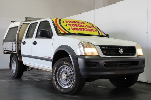 Used Holden Rodeo LX (4x4), Underwood, 2006 Holden Rodeo LX (4x4) Crew Cab Chassis