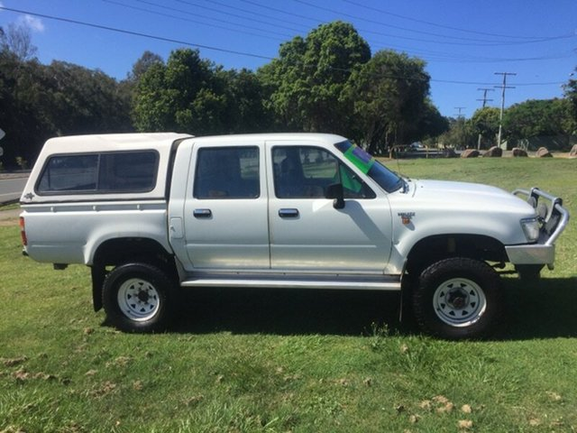 Used Toyota Hilux (4x4), Clontarf, 1996 Toyota Hilux (4x4) Dual Cab Chassis