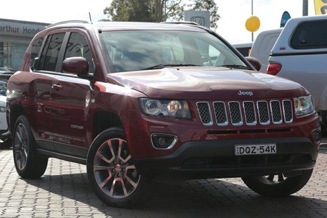 Used Jeep Compass Limited CVT Auto Stick, Narellan, 2015 Jeep Compass Limited CVT Auto Stick SUV